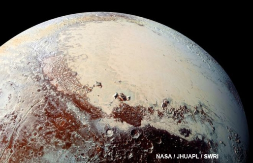 Methane ice dunes found on Pluto by NASA spacecraft